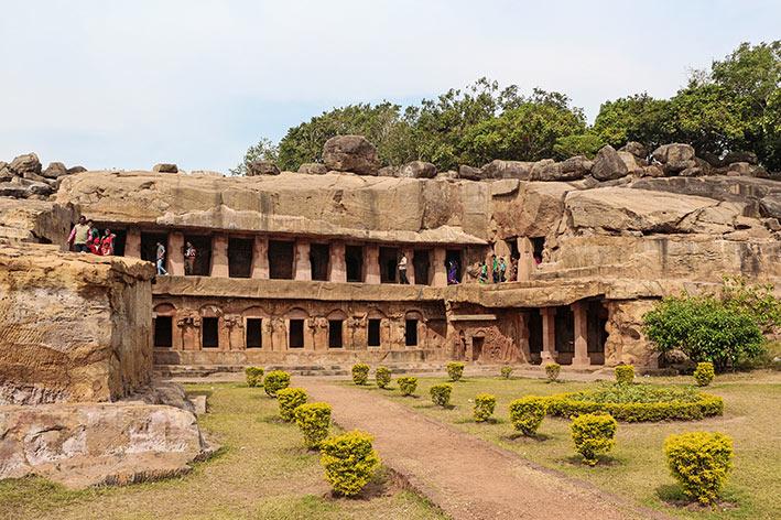 Grotte d'Udayagiri et de Khandagiri