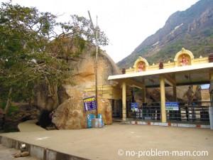 Le Temple Arulmigu Amanalingeswara - Thirumoorthy hills