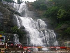 Peraruvi : cascade principale