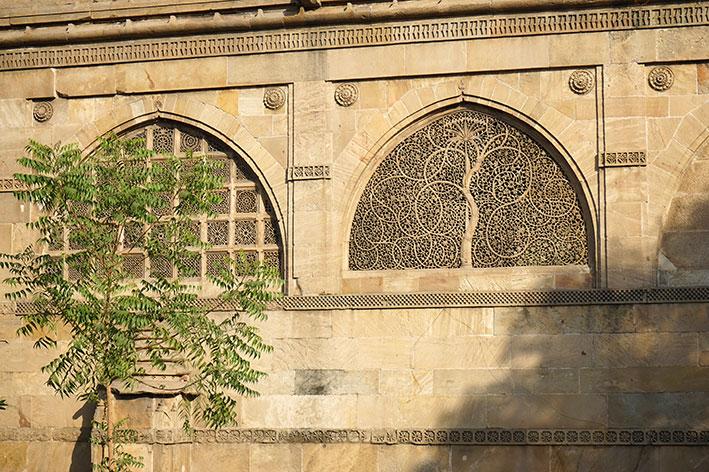 Mosquée Siddi Saiyyed - Jali