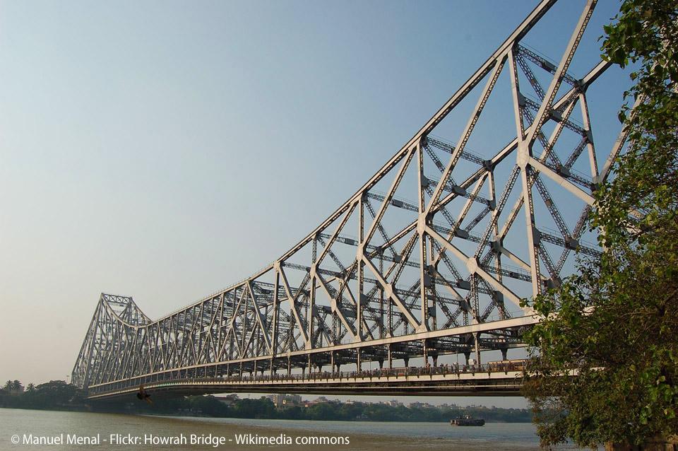 Pont suspendu de Howrah