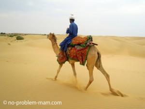 Dunes de Khuri près de Jaisalmer