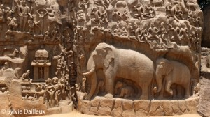 Mahabalipuram Arjuna's penance