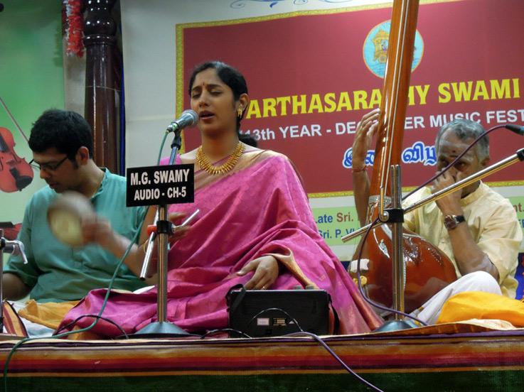 Nisha Rajagopal (Vocal), music of india