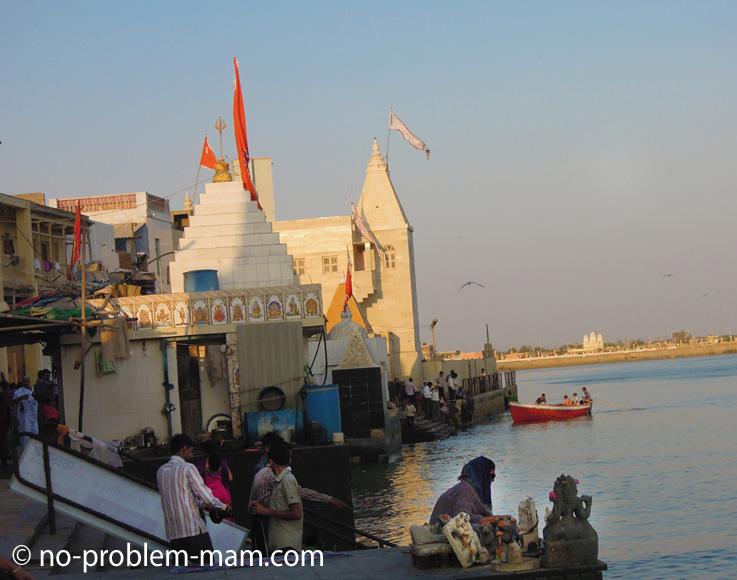 Les ghats de Dwarka