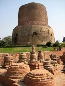 Sarnath - Stupa Dhamekha