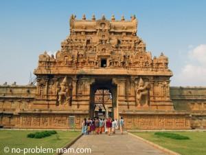 Entrée du Brihadeeswara Temple