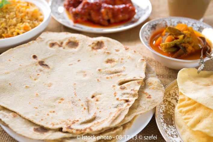 chapati indian bread