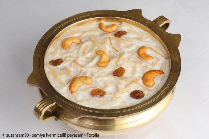 payasam dessert indien