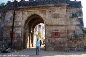 Une des portes de la ville vadnagar