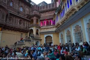Le fort Mehrangarh pendant les concerts sacred