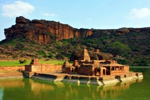 Bhutanatha_temple_in_Badami,_Karnataka,_India