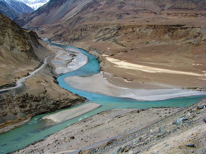 Zanskar_Indus_river_Sangam