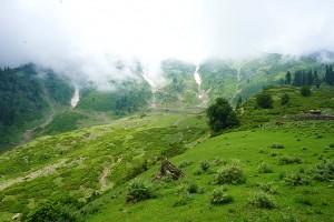 Gulmarg en juillet, Kashmir