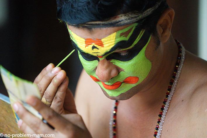 Kathakali show, danses de l'indy