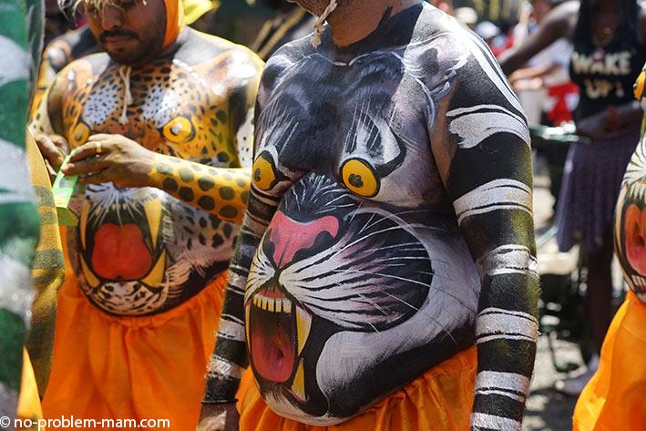 Pulikali, dance du tigre