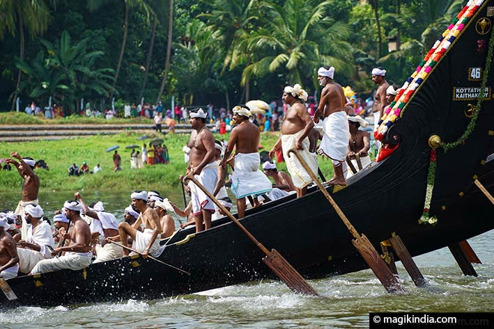 Aranmula snake-boat race onam