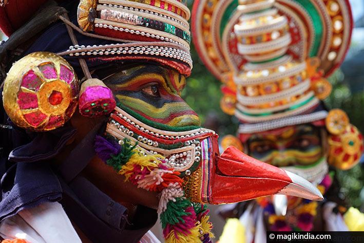 Theyyam onam kerala