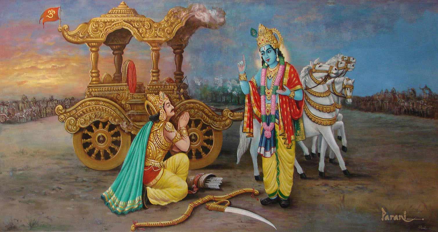 RadhaKrishna krishna arjuna