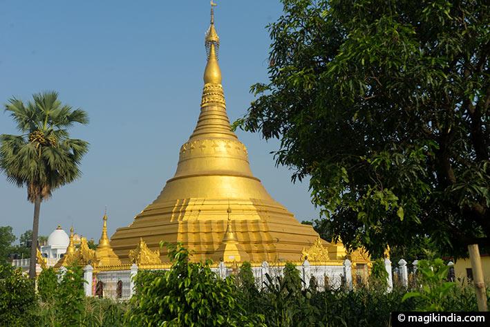bouddha kushinagar