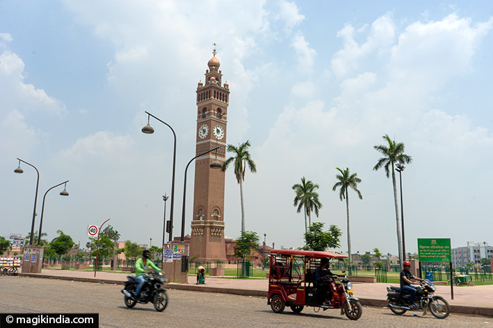 lucknow Husainabad clock tower